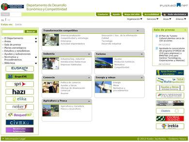 Departamento de Desarrollo Económico y Competitividad del GV