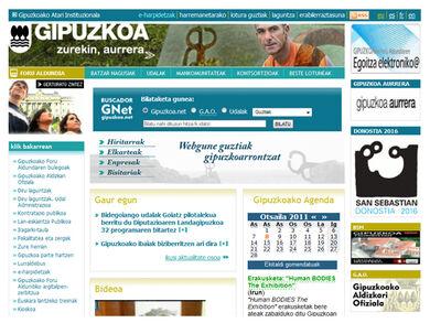 Portal Institucional de Gipuzkoa
